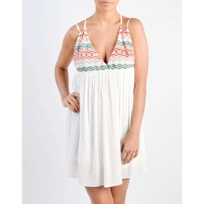Honey Punch EMBROIDERED DRESS