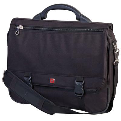 "Swiss Gear Expandable Messenger Bag. Fits most 15.6"" notebook computer"