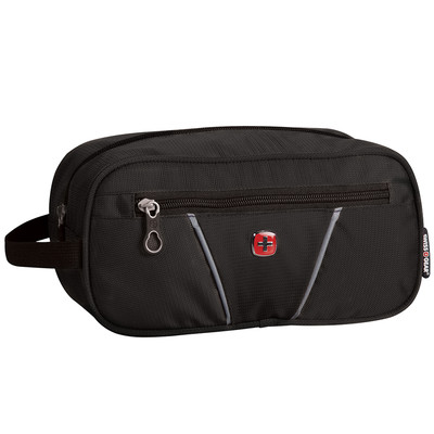 Swiss Gear Toiletry Bag with waterproof interior pocket