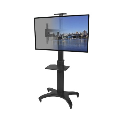 Kanto MTMA55PL Mobile TV Mount with Adjustable Shelf for 32-inch to 55-inch TVs  (800152715155)