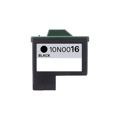 Premium LEXMARK-Compatible 10N0016 #16 INK / INKJET Black