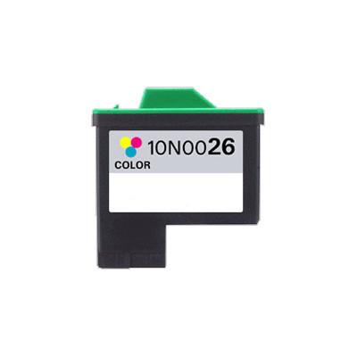 Premium LEXMARK-Compatible 10N0026 #26 INK/ INKJET Tri Color
