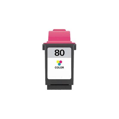 Premium LEXMARK-Compatible 12A1980 #80 INK / INKJET Tri Color