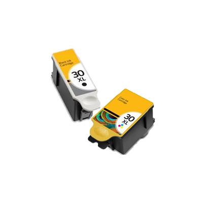 Premium KODAK-Compatible 1341080 / 1550532 (30XL) INK / INKJET Cartridge COMBO PACK Black Tri-Color