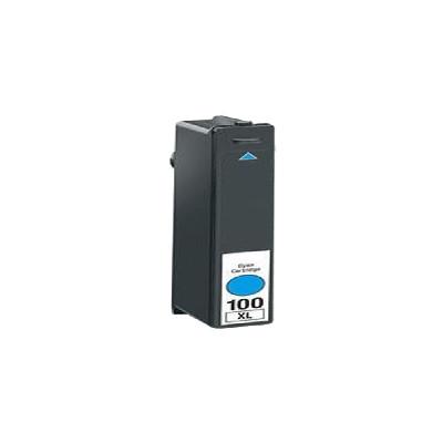 Premium LEXMARK-Compatible 14N1069 100XL High Yield INK / INKJET Cartridge Cyan