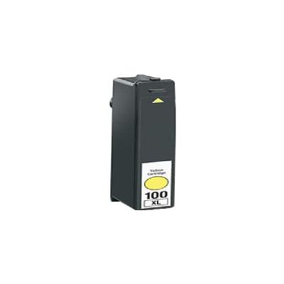 Premium LEXMARK-Compatible 14N1071 100XL High Yield INK / INKJET Cartridge Yellow