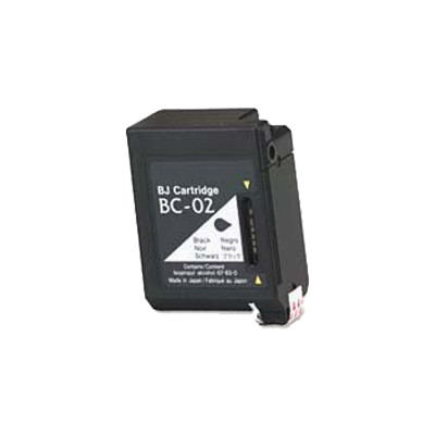 Premium CANON-Compatible BC02 INK / INKJET Cartridge Black