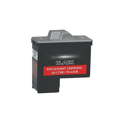 Premium SHARP-Compatible UXC70B INK / INKJET Cartridge Black
