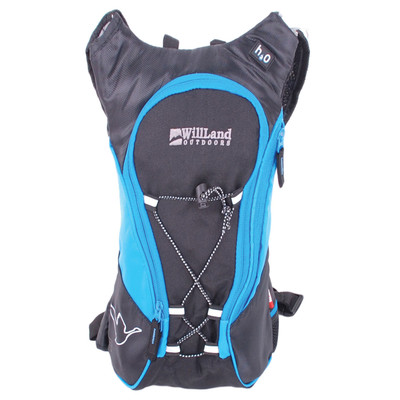 WillLand Outdoors Raid 5L Hydration Backpack, Blue