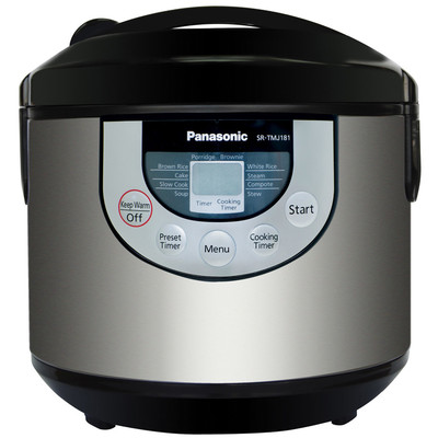 Panasonic-Refurbished-Multicooker SRTMJ181-Manufacturer Recertified with 90 days Warranty