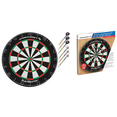 "Sportcraft 18"" Sisal Bristle Dart Board"