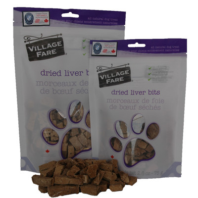 Dried Liver Bits 75g or 140g (3 Bag Price)