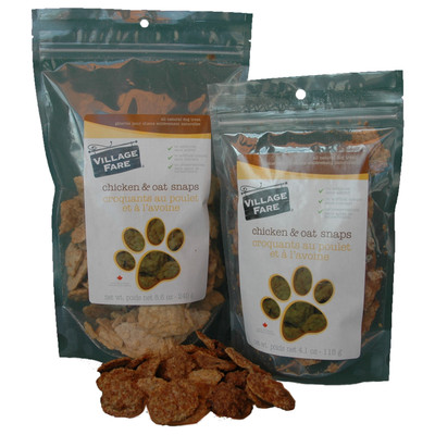 Chicken & Oat Snaps 115g or 240g (3 Bag Price)