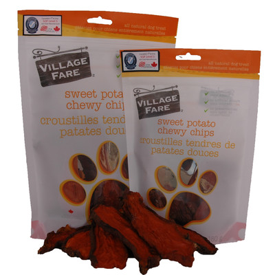 Sweet Potato Chewy Chips 160g or 340g (3 Bag Price)