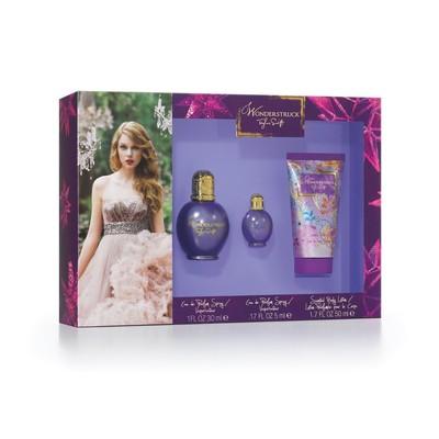 Set For Women - Wonderstruck 30ml Eau De Parfum  Spray + 50ml B/L + 5ml Mini - by Taylor Swift  - 719346169783