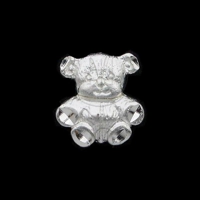 Sterling Silver DiamondCut Animals Charms - Various Styles