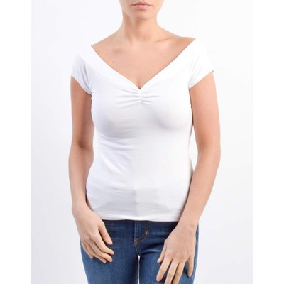 Guess SWEETHEART NECK TOP