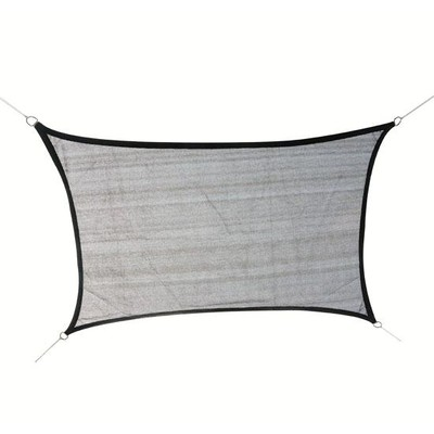 13'x10' Sun Shade Sail Shelter Grey