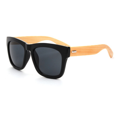 Bamboo Sunglasses - Bold Black