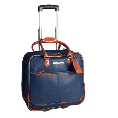 David Jones Navy Rolling Business Luggage