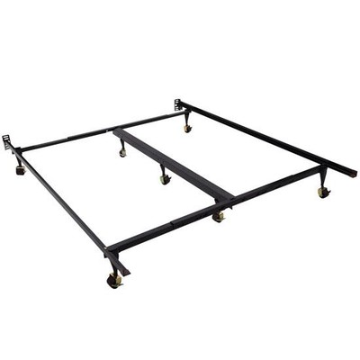 Adjustable Queen/King Size Metal Bed Frame