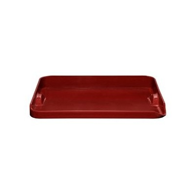 "Pizza Stone - 14½"" - Ribbed - Red"