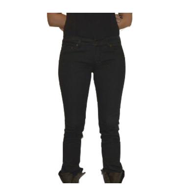 Gsus Designer Women's Jeans - Black Denim