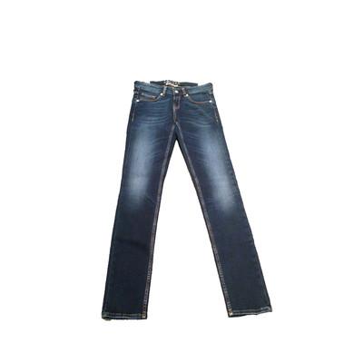 Gsus Designer Women's Jeans - Olivia Aloe Vera Blue Faded Denim Soft