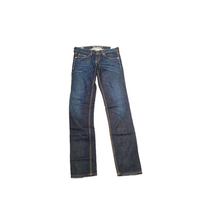Gsus Designer Women's Jeans - Olivia Aloe Vera Raw Denim with fade