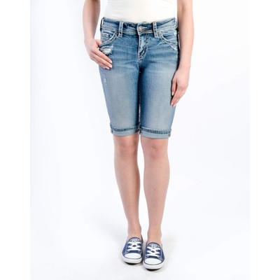Silver Jeans SUKI MIDRISE BERMUDA SHORT