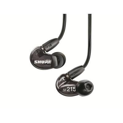 Shure SE-215  Sound Isolating Earphones, Black.