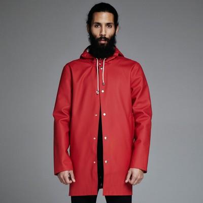 Red Stockholm Raincoat