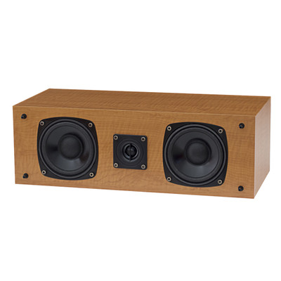 Fluance SXC High Definition Two-way Center Channel Speaker for Home Theater Surround Sound Systems