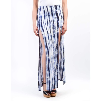 A3 Design TIEDYE MAXI SKIRT WITH SLIT