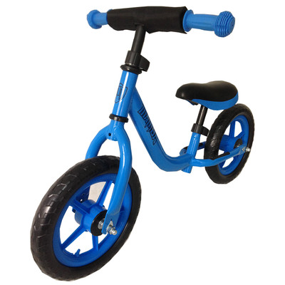 Sporty Mamba Boys Blue No Pedal Balance Bike with Handlebar Pad