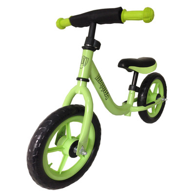 Green Unisex Stride Bike to teach balance - Mamba Classic