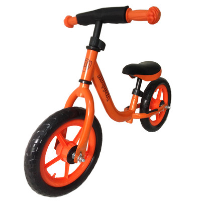 Mamba Balance Bike (Orange) with handlebar pad
