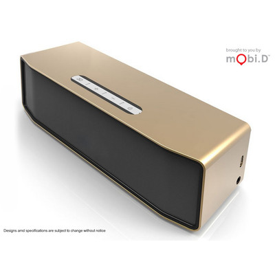 mobi.D Bluedio 3D Surround Bluetooth Speaker (GOLD) upgraded (BS-3)