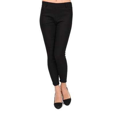 Spring and summer Flavored Two Size Black Jegging