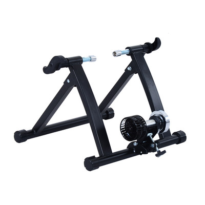 Folding Indoor Kinetic Cyclone Cycle Bicycle Trainer Black