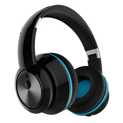 Arion Legacy ARDS2 Deep Sonar Bone Crushing Bass PC and Music Headset with Active Noise Cancellation, Black (AR-HSAU-DS2BK)
