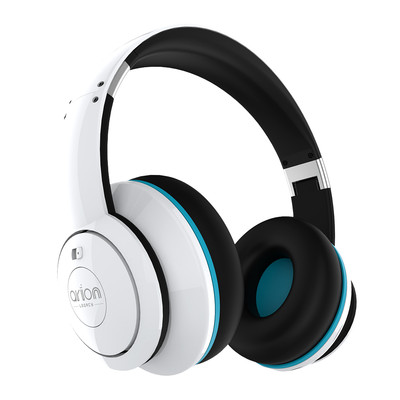 Arion Legacy ARDS1 Deep Sonar Extreme Clarity PC and Music Headphones with Active Noise Cancellation, White (AR-HSAU-DS1WH)