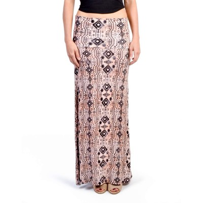 A3 Design TRIBAL PRINT MAXI SKIRT