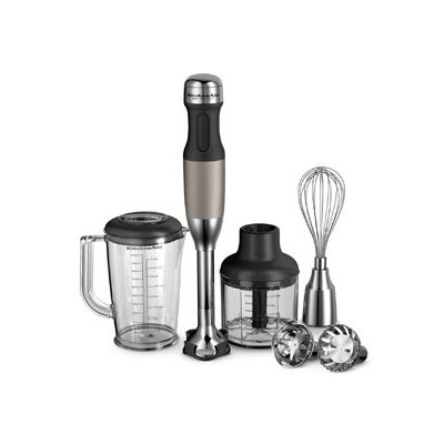 Immersion Blender - 5-speed - Architect - Silver