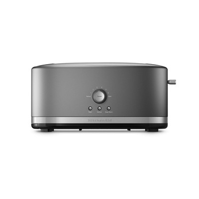 Toaster - Long slot - Light Silver