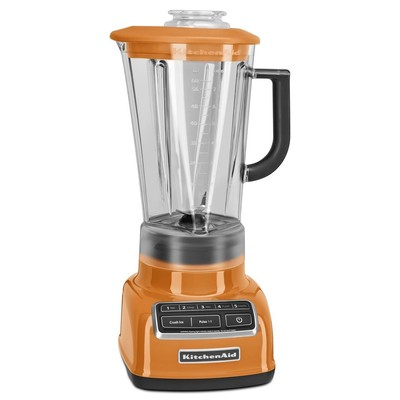 KitchenAid 5 Speed Diamond Blender - Tangerine