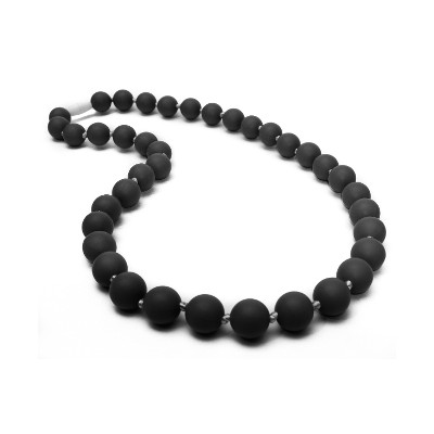 Classic Chic Teething Necklace - Black