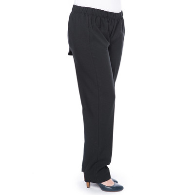 Wheelchair Pant with Snapback  - Black