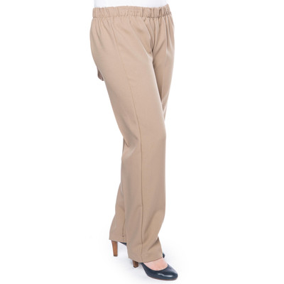 Wheelchair Pant with Snapback  - Taupe