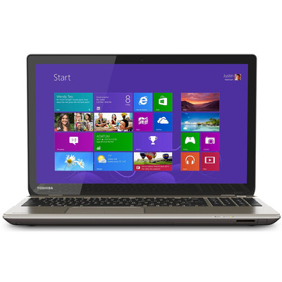 Toshiba Satellite P50T-B-01N Refurbished Touchscreen Laptop, 3.5 GHz Intel Core i7-4710HQ, 16GB RAM, 1TB HDD, Refurbished, Bilingual Keyboard (P50T-B-01N00Q)